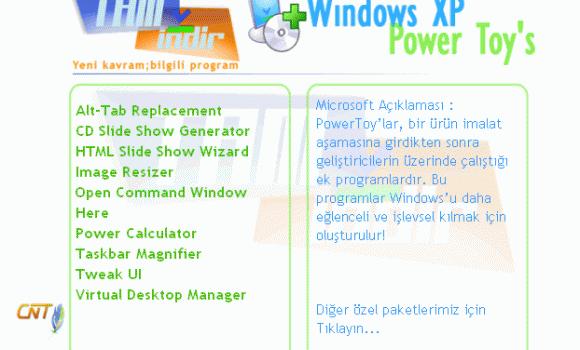 XP Power Toy's Paketi Ekran Görüntüleri - 1