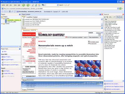 WebZip 7.0 Ekran Görüntüleri - 1
