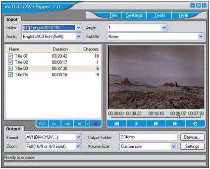 Pop DVD Ripper 1.1 Ekran Görüntüleri - 2