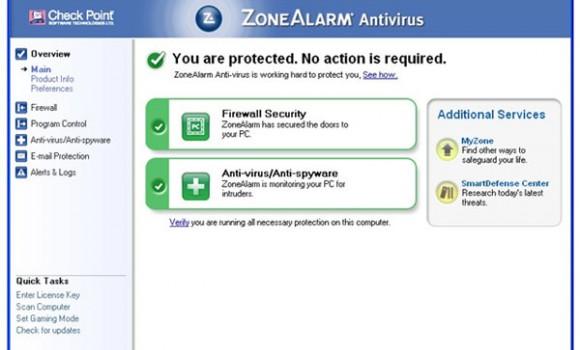 ZoneAlarm Antivirus Ekran Görüntüleri - 3