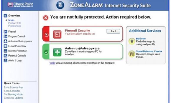 ZoneAlarm Internet Security Suite Ekran Görüntüleri - 2