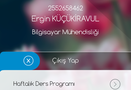 Celal Bayar Üniversitesi Ekran Görüntüleri - 4