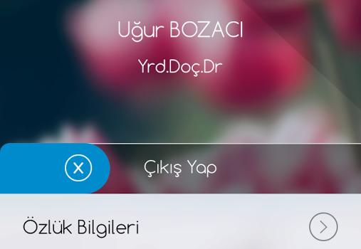 Celal Bayar Üniversitesi Ekran Görüntüleri - 3