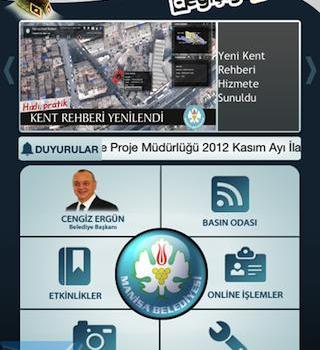 Manisa Belediyesi Ekran Görüntüleri - 2