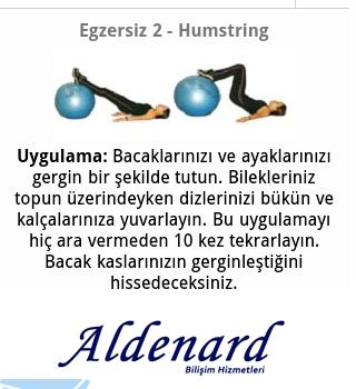 Pilates Egzersizleri Ekran Görüntüleri - 1