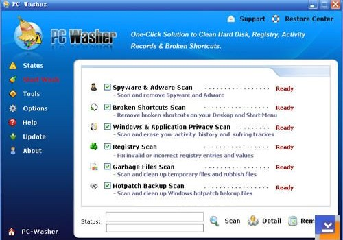 PC Washer Ekran Görüntüleri - 2
