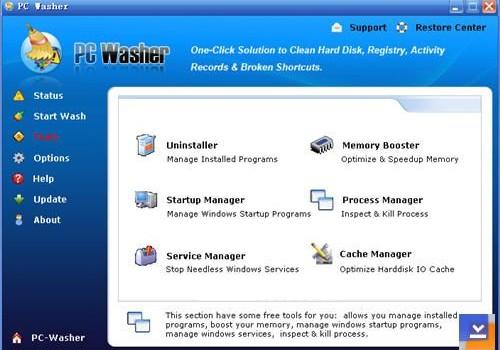 PC Washer Ekran Görüntüleri - 1