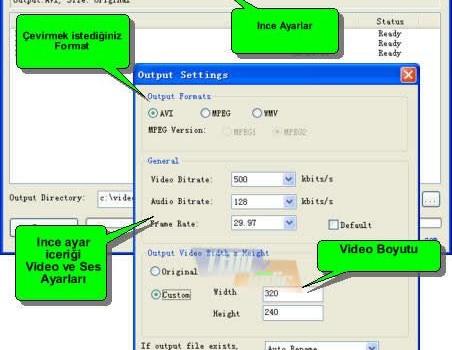 Freez Flv to AVI/MPEG/WMV Converter Ekran Görüntüleri - 2