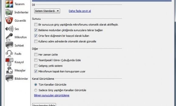TeamSpeak 3 Türkçe Yama  Ekran Görüntüleri - 1
