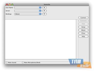 Ventrilo Client Ekran Görüntüleri - 2