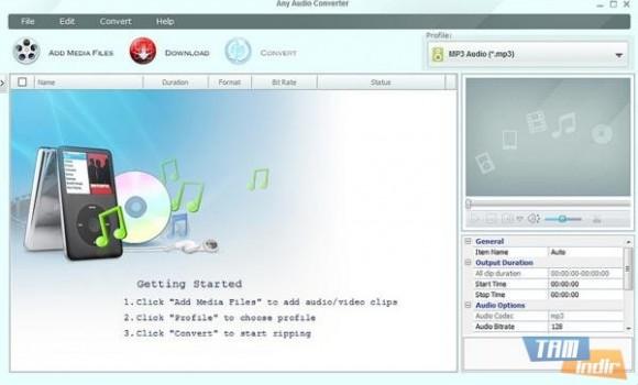 Any Audio Converter Ekran Görüntüleri - 3