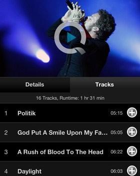 Qello - Watch HD Music Concerts Ekran Görüntüleri - 1