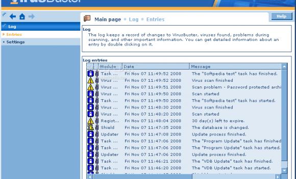 VirusBuster Professional Ekran Görüntüleri - 3