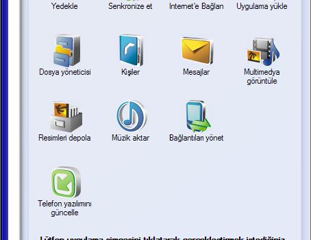 Nokia PC Suite Ekran Görüntüleri - 1