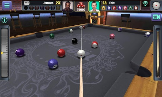 3D Bilardo Ekran Görüntüleri - 3