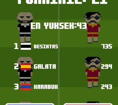 8bit Türkiye Futbol Ligi Oyunu Ekran Görüntüleri - 2