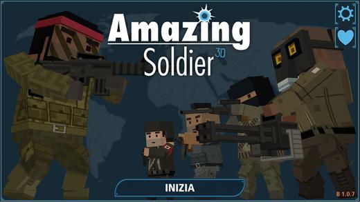 Amazing Soldier 3D Ekran Görüntüleri - 5