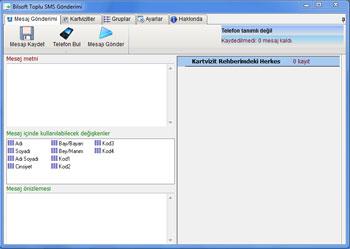 Android Toplu SMS Programı ÜCRETSİZ Ekran Görüntüleri - 1
