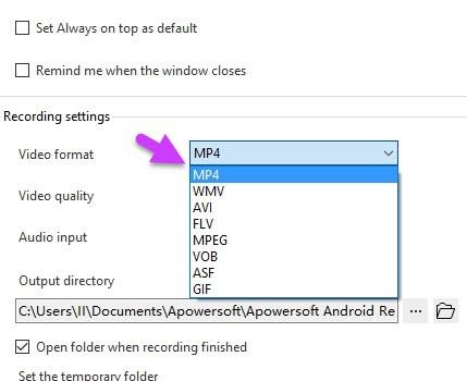 Apowersoft Android Recorder Ekran Görüntüleri - 4