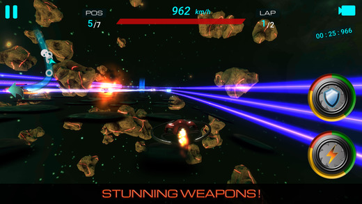 Battle of Space Racers: A Space Hunter Ekran Görüntüleri - 3