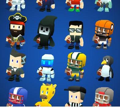 Blocky BEASTMODE Football Ekran Görüntüleri - 1