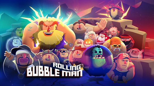 Bubble Man Rolling Ekran Görüntüleri - 3