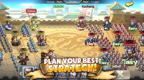 Chibi 3 Kingdoms Ekran Görüntüleri - 3