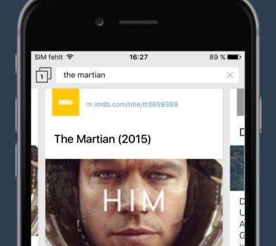 CLIQZ Browser Ekran Görüntüleri - 2