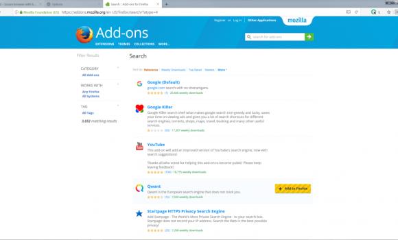 CLIQZ Browser Ekran Görüntüleri - 5