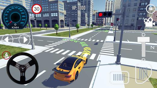 Driving School 3D Ekran Görüntüleri - 3