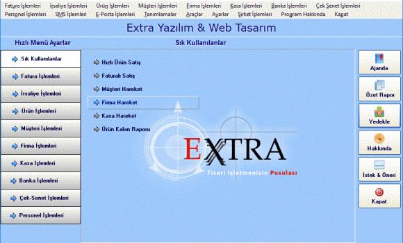 Extra Ön Muhasebe Programı Ekran Görüntüleri - 5