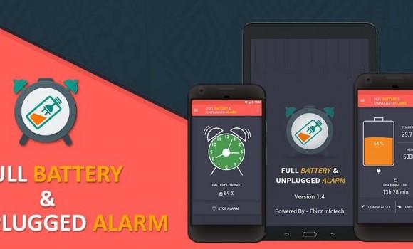 Full Battery & Unplugged Alarm Ekran Görüntüleri - 1