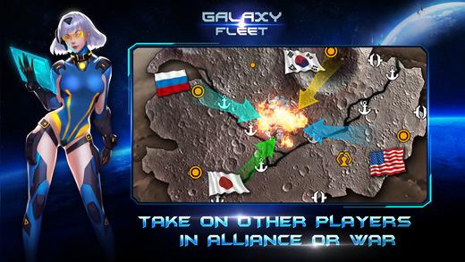 Galaxy Fleet: Alliance War Ekran Görüntüleri - 2