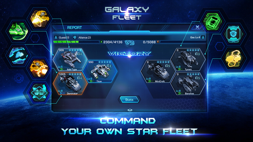 Galaxy Fleet: Alliance War Ekran Görüntüleri - 3