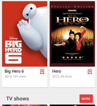 Google Play Movies Ekran Görüntüleri - 1