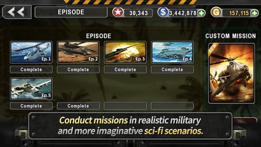 Gunship Battle Ekran Görüntüleri - 5