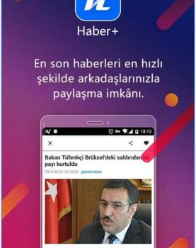 Haber+ Ekran Görüntüleri - 1