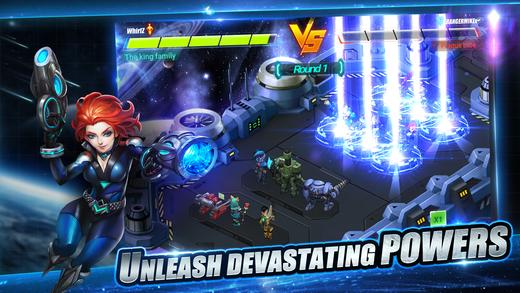 Hero Force: Galaxy War Ekran Görüntüleri - 5