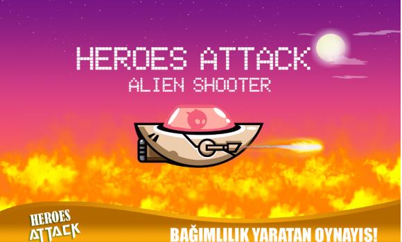 Heroes Attack: Alien Shooter Ekran Görüntüleri - 2