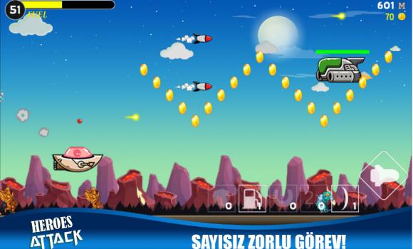 Heroes Attack: Alien Shooter Ekran Görüntüleri - 4