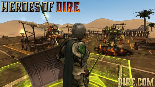Heroes Of Dire Ekran Görüntüleri - 1