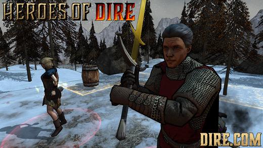 Heroes Of Dire Ekran Görüntüleri - 3