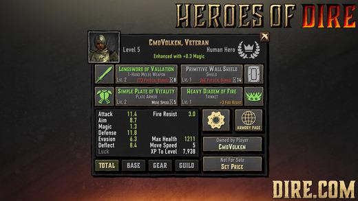 Heroes Of Dire Ekran Görüntüleri - 4
