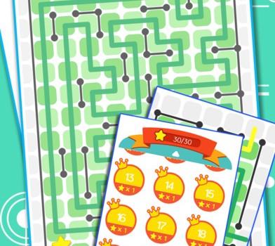 Line Maze Puzzles Ekran Görüntüleri - 2