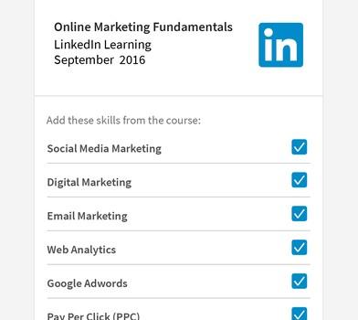 LinkedIn Learning Ekran Görüntüleri - 1