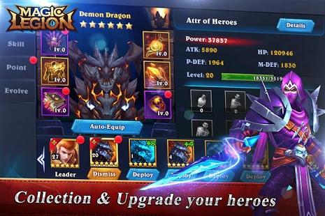 Magic Legion - Age of Heroes Ekran Görüntüleri - 2