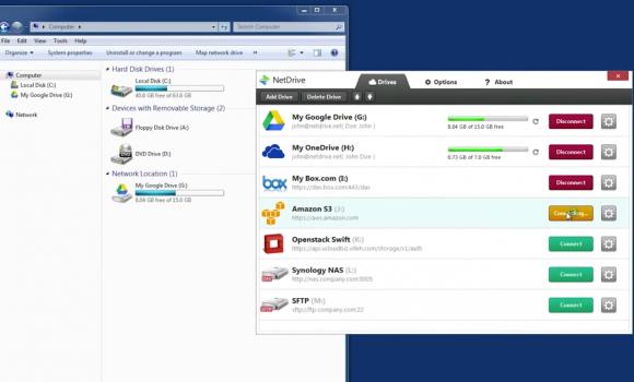 NetDrive Ekran Görüntüleri - 3