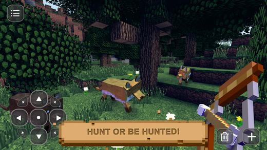 Pixel Hunting: Survival & Craft Ekran Görüntüleri - 3