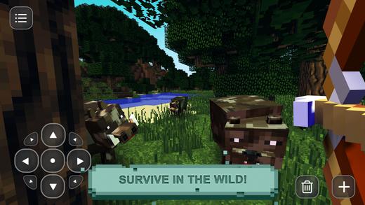 Pixel Hunting: Survival & Craft Ekran Görüntüleri - 1