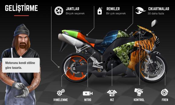 Racing Fever: Moto Ekran Görüntüleri - 1
